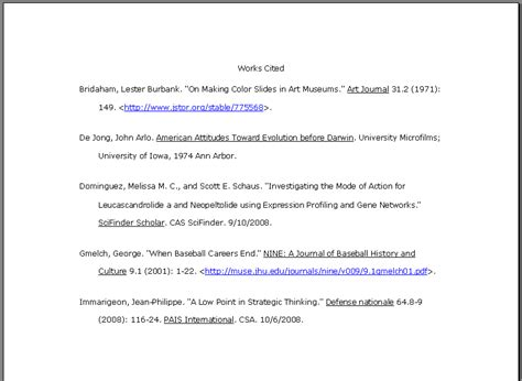 reliable websites for research papers annotated website bibliography