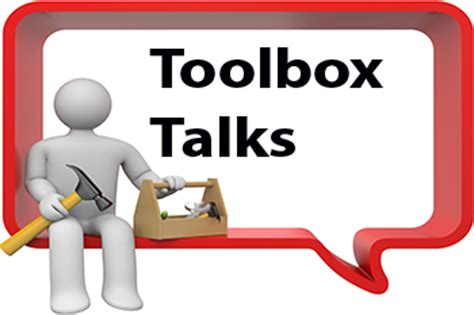 tool box talks template free toolbox talk from hs direct ltd a uk based