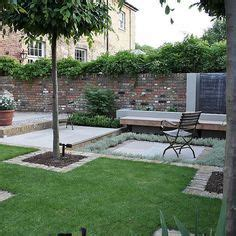 multi level linear garden hertfordshire designed by kate alicia parkway streetscapes landscape architecture and