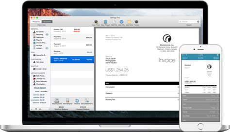 invoice template for iphone send professional invoices from your mac iphone and