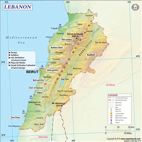 lebanon on world map lebanon on world map roundtripticket me