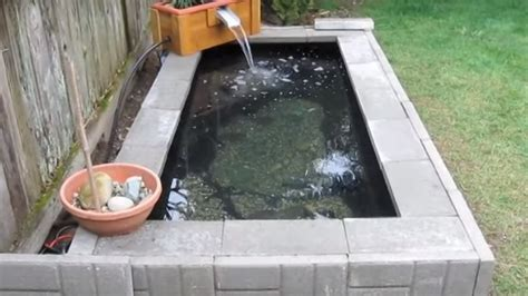 how to build a homemade garden pond with waterfall feature