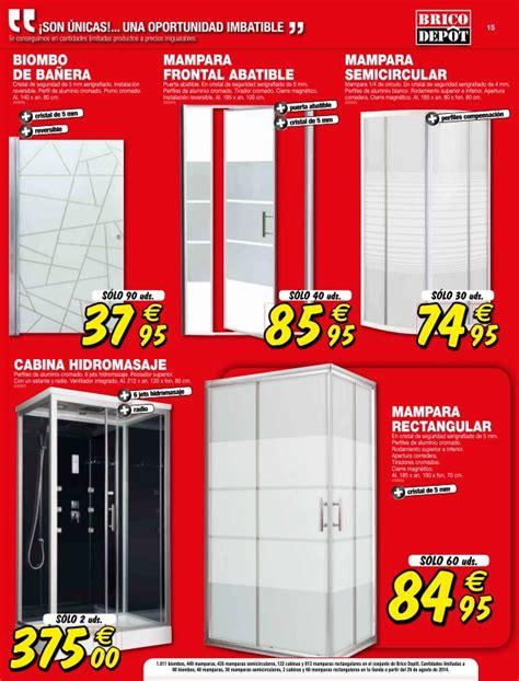 ofertas de maras de ducha catalogo bricodepot septiembre 2014