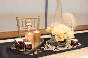 The great gatsby theme featured in blissful brides magazine