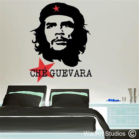 Che Guevara Wall che guevara wall decals wallart studios