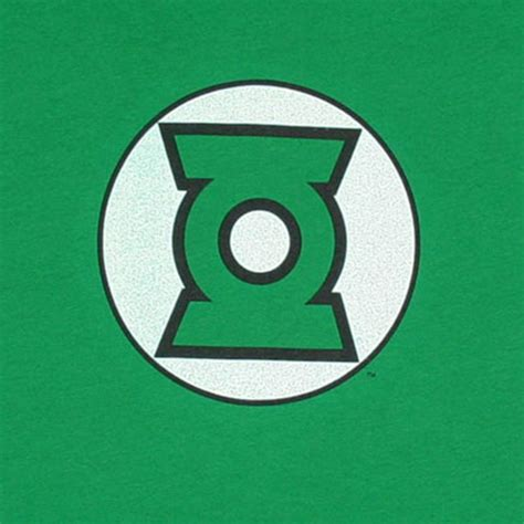 Logo Pop Green green lantern logo dc comics green juniors graphic shirt