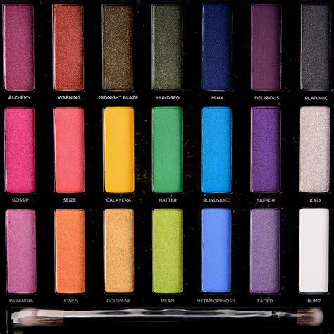 full spectrum l reviews urban decay full spectrum eyeshadow palette review photos