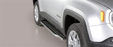 pedane jeep pedane sottoporta inox per jeep renegade m i s u t o n i d a