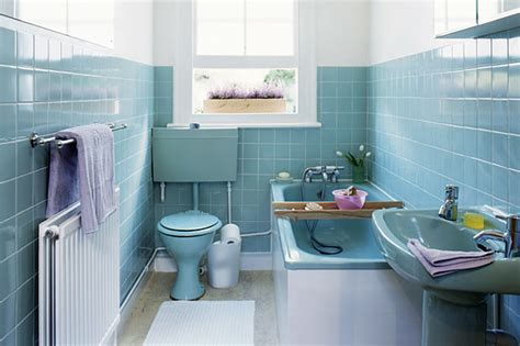 blue tiled bathroom pictures vintage pearl the inspiration the vintage bathroom