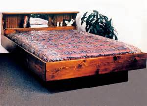 Water Bed Frame Waterbed San Diego Complete Hb Fr Deck Ped Q Pine Waterbeds Frames Pine Waterbeds