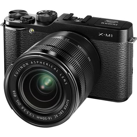 Kamera Mirrorless Fuji fujifilm x m1 mirrorless digital with 16 50mm 16390952