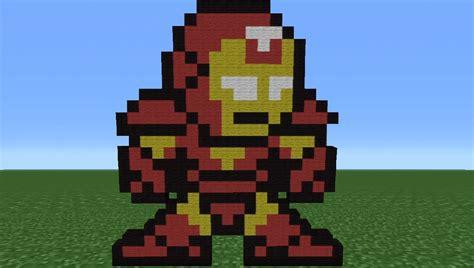 Kaos Ironman 8bit Ironman 1 minecraft tutorial how to make iron 8 bit