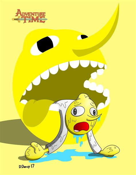 Kaos Adventure Time 3 adventure time lemongrab by artist on deviantart