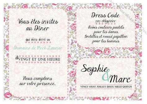Modele Invitation Dress Code