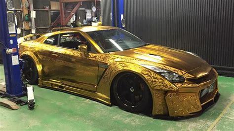 trump gold plated car 1 mln gold plated car on show in dubai al arabiya english