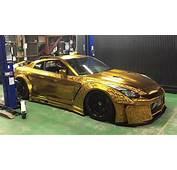 $1 Mln Gold Plated Car On Show In Dubai  Al Arabiya English