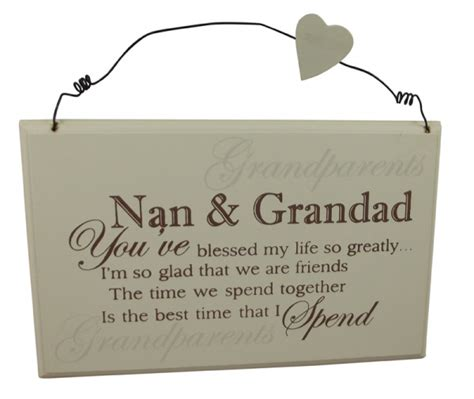 best nan grandad plaque