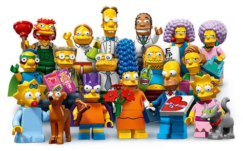 Lego Set Minifiigures Simpsons Series 2 16pcs Character Complete smithers and groundskeeper willie as new lego simpsons minifigures cnet