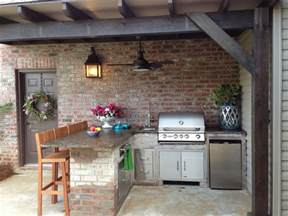 Backyard Kitchen Ideas by Outdoor Kitchen Patio On Outdoor Kitchen