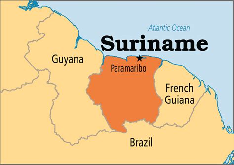 where is suriname on world map nov 11 suriname swaziland operation world