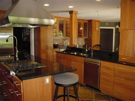 Latest Kitchen Designs Photos Flush Door Cabinets