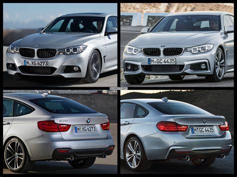 Bmw 2er Vs 4er Cabrio by Bmw 4 Series Gran Coupe Vs Bmw 3 Series Gt Photo Comparison