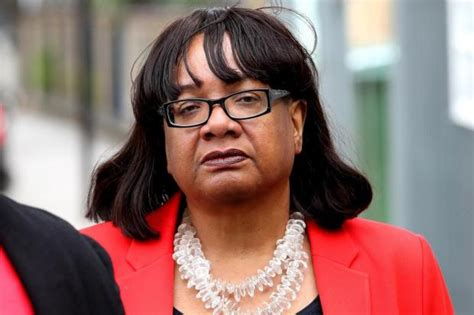 diane abbott pictured turning out to vote during mystery