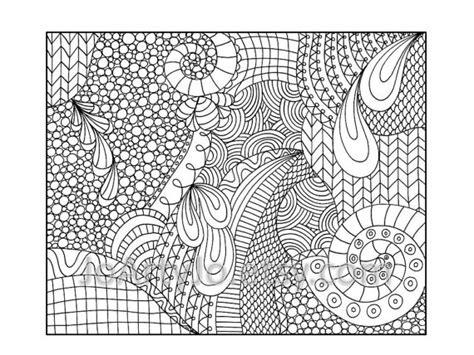 zentangle coloring pages printable zentangle inspired coloring page printable pdf zendoodle