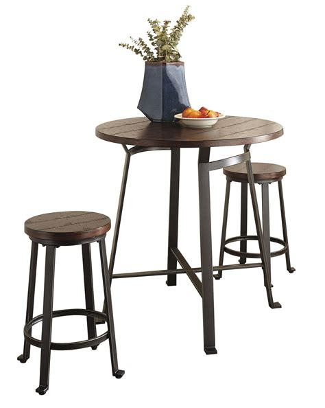challiman counter height table furniture challiman 3pc counter height set the