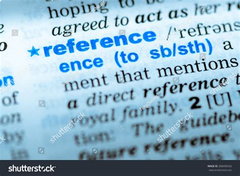 reference books that contain words of similar meaning closeup word dictionary reference definition stock