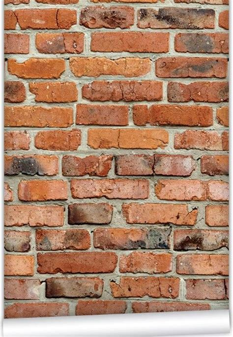fake exposed brick wall pin by tina jaycox on re finishing the basement pinterest