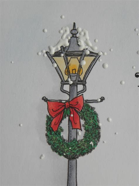 card christmas light pole