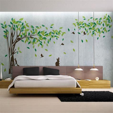 bedroom stickers living room wall decals bedroom wall sticker tv background