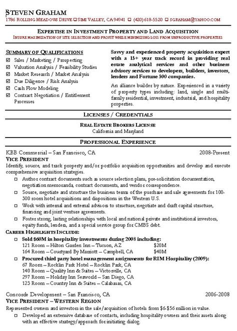 real estate agent resume sample top 8 commercial samples 1 in this