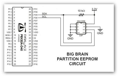 eeprom circuit diagram image gallery eprom diagram