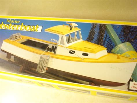 midwest lobster boat kit midwest maine lobster boat model boat kit ebay
