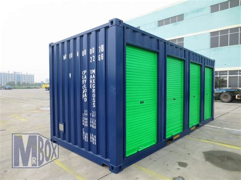 self storage containers roller shutter doors container conversion