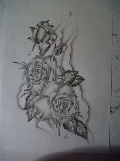 detailed rose tattoo designs roses design by tattoosuzette on deviantart