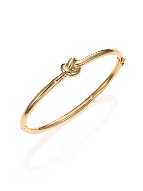 Michael kors Brilliance Knots Bangle Bracelet/Goldtone in Metallic   Lyst