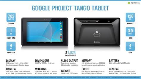 Quick Facts   Google Project Tango Tablet