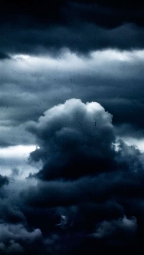 iphone wallpaper dark clouds thick dark clouds wallpaper free iphone wallpapers
