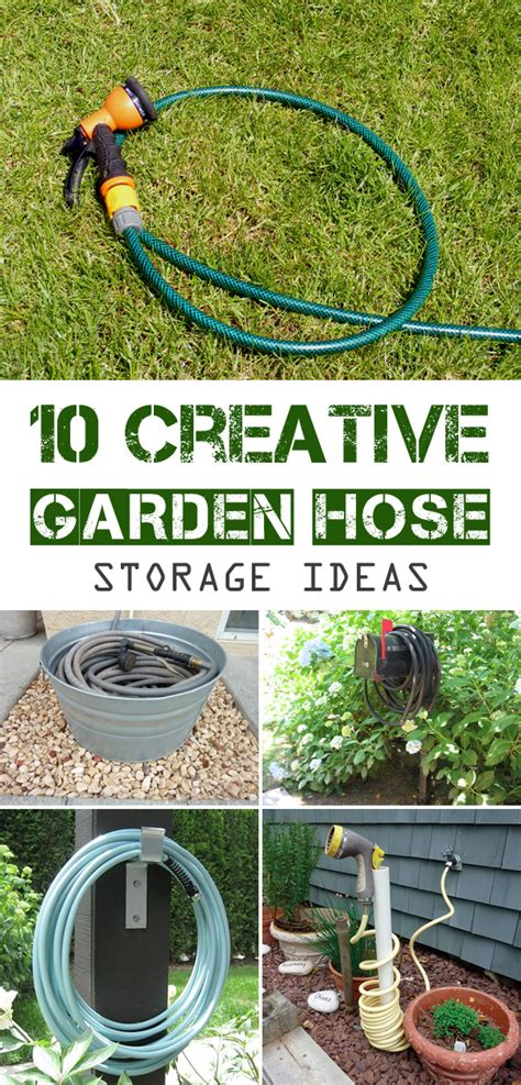 Garden Hose Storage Ideas 10 Creative Garden Hose Storage Ideas