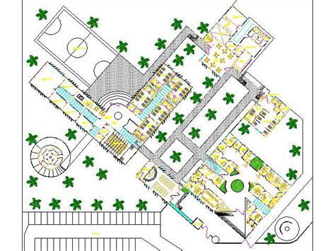 drug rehabilitation center floor plan rehabilitation center drug rehabilitation home 2d dwg