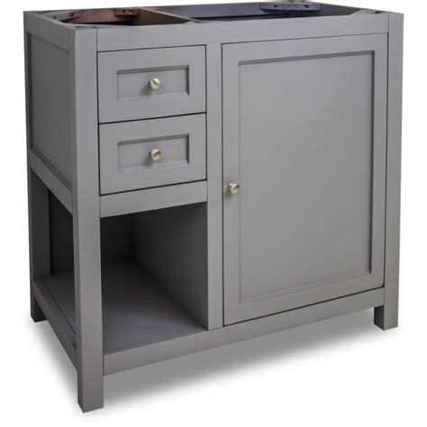 36 inch bathroom cabinet jeffrey alexander van103 36 grey astoria modern collection