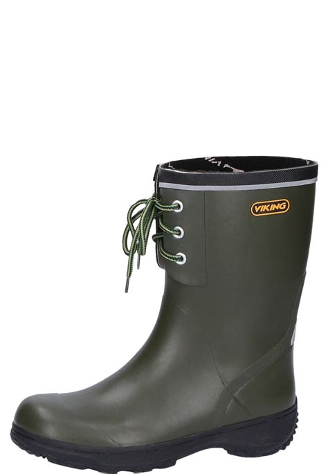 rubber boot viking navigator 2 green rubber boots made from