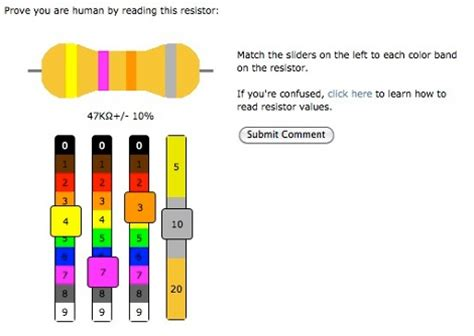 resistor color code meter are you human resistor edition hackaday