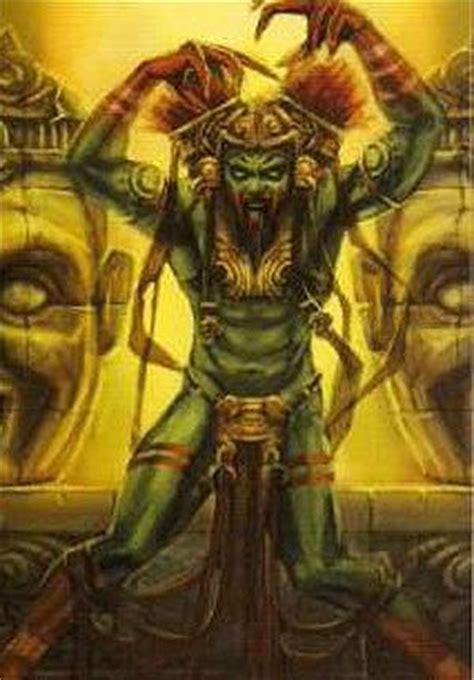 acaat mayan god of tattoos mayans pinterest