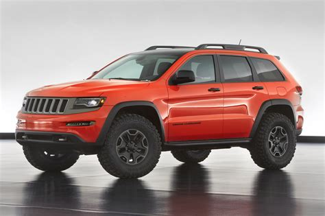 jeep cherokee tires jeep reveals grand cherokee trailhawk concept autoevolution