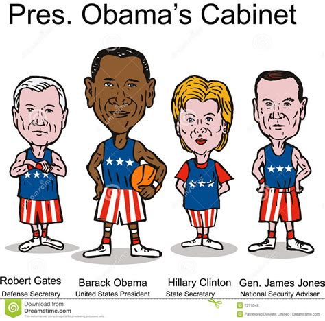 Us President Cabinet by President Obama S Cabinet Editorial Stock Photo Image