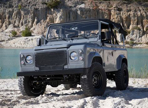 90s land rover land rover defender 90 nardo grey is built for any trip